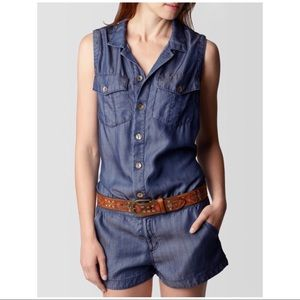 TRUE RELIGION TENCEL ROMPER